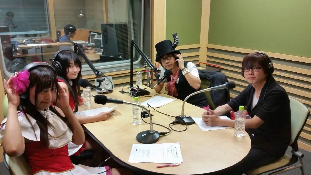 毎週火曜日20時@FMでラジオ出演します。