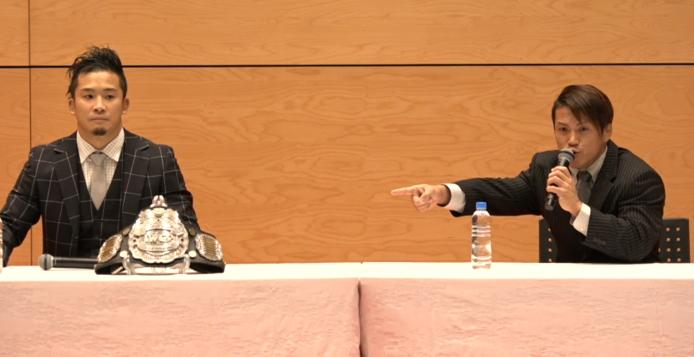 日記だけで終わらせない、記者会見でKUSHIDAがさらにカッコいい