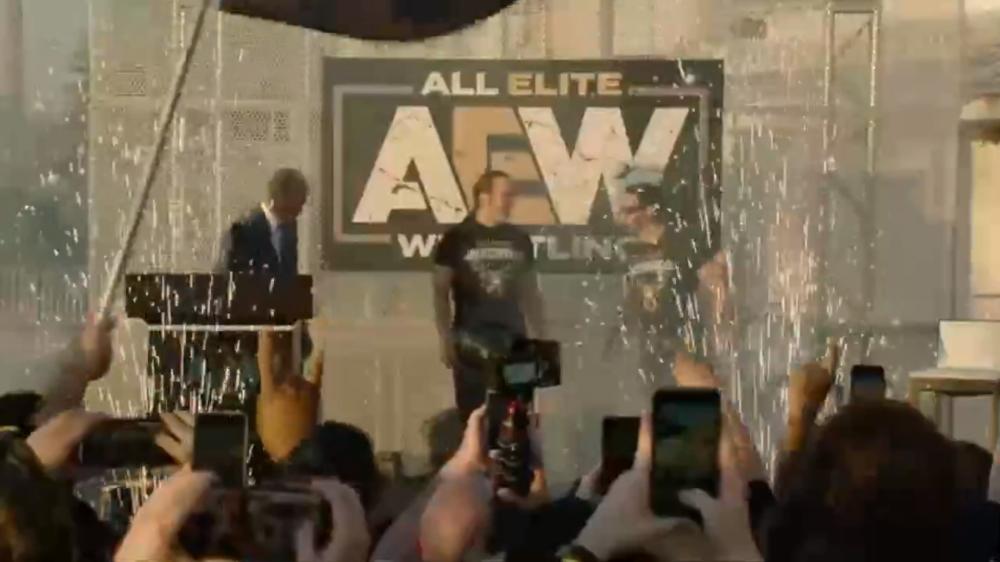 All Elite Wrestling決起集会がライブ配信されています。