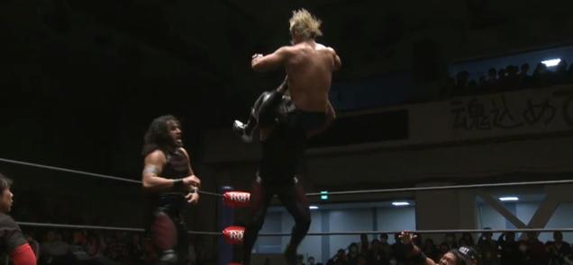 IWGP&ROH世界タッグ選手権試合 ダブルタイトルマッチ決定!しかし・・・