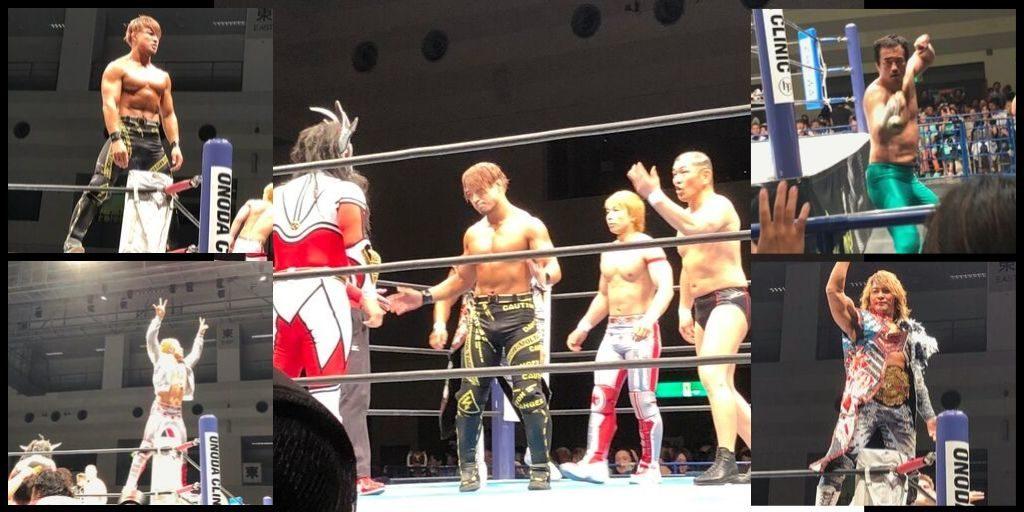 名古屋国際会議場 新日本プロレス 西側2列目