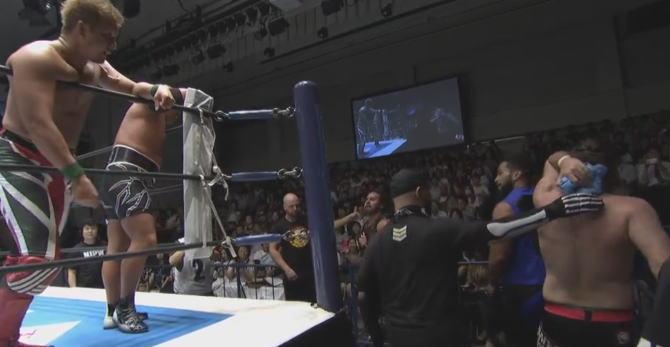石井・YOSHI-HASHIのIWGPタッグ挑戦の決定が早すぎる(笑)