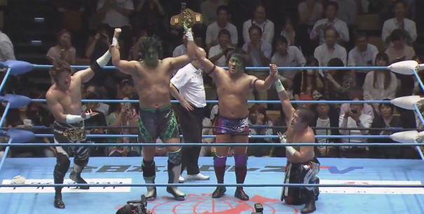 アジアタッグ選手権はTAJIRIワールドに!王者ジェイク・岩本は越えることができたのか。