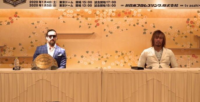 1月5日東京ドームでのIWGPとインターコンチネンタルのダブル選手権が決定。