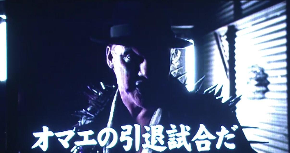 クリス・ジェリコが棚橋弘至に宣戦布告!1月5日東京ドームでついに実現!!