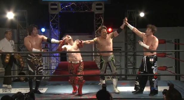 【アジアタッグ】TAJIRI&KAIとヤンキー二丁拳銃の戦いは目まぐるしいテクニック戦の名勝負に!