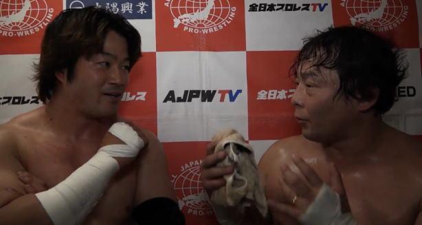 TAJIRIとKAIがアジアタッグへ挑戦か?