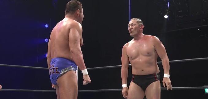 永田裕志と鈴木みのるの壮絶な喧嘩マッチ!ミスターIWGPがオカダカズチカ戦へ駒を進めた!