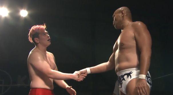 秋山準が田村男児に愛のムチと愛の握手を送った日