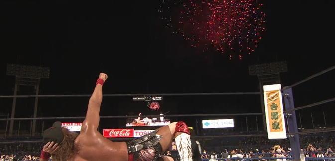 内藤哲也が二冠王に返り咲き!プロレス界に残る名シーン、内藤哲也と二冠と花火