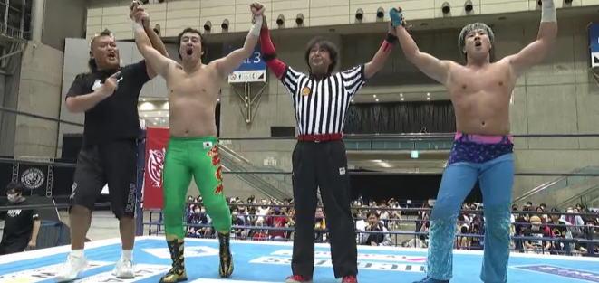 田口とワトのタッグチーム名は「ワン・オア・エイト・・・」一か八か?