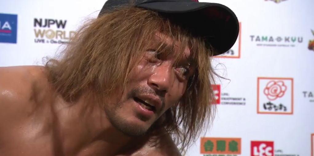 内藤哲也がギリギリの発言「俺がプロレスファンならSANADAが長岡で勝つと思う」