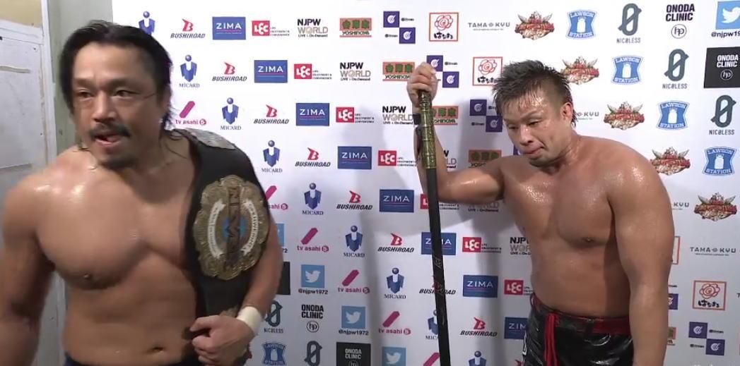 NEVER6人タッグは歴史に残る名勝負に!YOSHI-HASHIと後藤洋央紀はタイチ・ザックの持つIWGPタッグ挑戦か